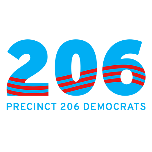 Precinct 206 Democrats logo