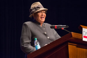 Rep. Alma Adams, NC 12 Congressional District speaks at Stand Up Davidson