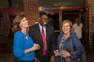 Natasha Marcus joins other Stand Up Davidson attendees.